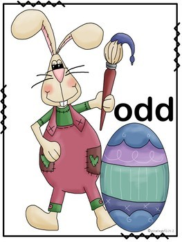 Easter Odd and Even Sorting Game