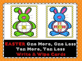 Easter One More, One Less, Ten More, Ten Less
