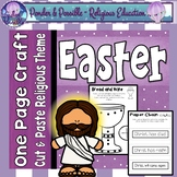 Easter One Page Crafts - Bible Religious Theme
