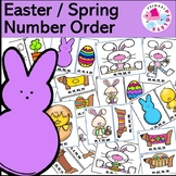 Easter Ordering Numbers Math Station
