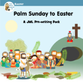 Holy Week preschool crafts and activity pages.
