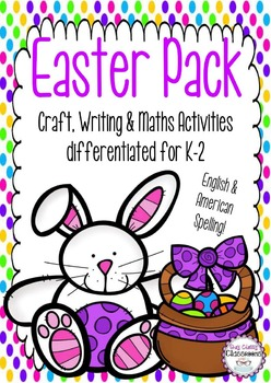 Easter Pack - Craft, Writing & Maths Activities