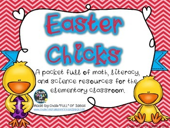 Easter Packet Full of Math, Literacy, and Science Resources