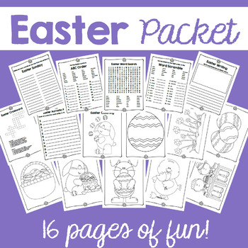 Easter Packet (Non-religious)
