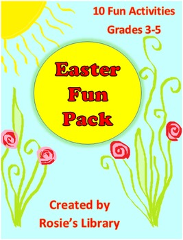 Easter Packet with 10 Fun Activities