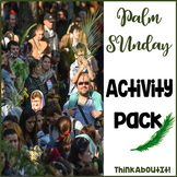 Easter: Palm Sunday Activity Pack