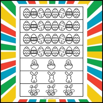 Easter Paper Chain Freebie
