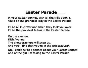 Easter Parade Design A Bonnet