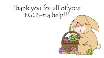 Easter Parent Thank you