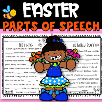Easter Mad Lib Worksheets & Teaching Resources | TpT