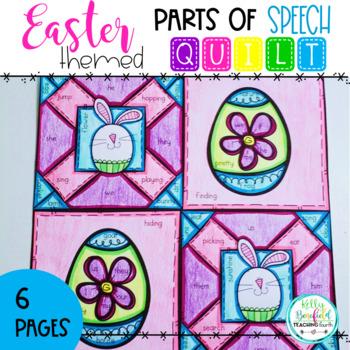 Easter Parts of Speech Quilt