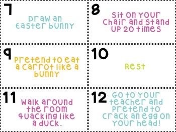 Easter Party Scoot Activity (30 Cards!)