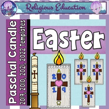 Easter ~ Paschal Candle ~ Jesus