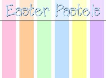 Easter Pastels Digital Papers