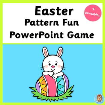 Easter Pattern Fun Game plus printables