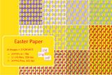 Easter Pattern, Paper, Background. Clip art, spring, tulip