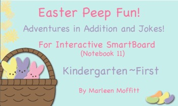 Easter Peep Fun for Interactive Smartboard (Notebook 11)