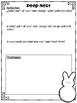 Easter Peep Nest Stem Challenge