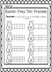 Easter Peep Ten Frame Worksheet
