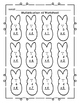 Easter Peeps - Chicks/Bunnies: Math Multiplication Facts W