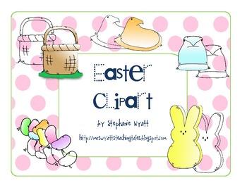Easter-Peeps Clipart