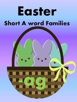 Easter Peeps - Short A Word Sorts