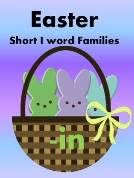 Easter Peeps - Short i Word Sorts