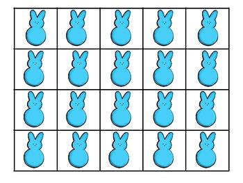 Easter Peeps Ten Frame