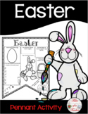 Easter Pennant Activity