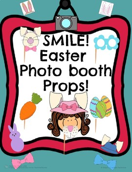 Easter Photo Booth Props!