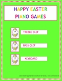 Easter Piano Games