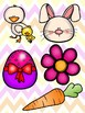 Easter Picture Match File Folder Game