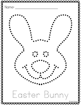 Easter Pinning or Tracing Pages