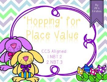 Easter Place Value Freebie