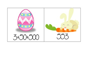 Easter Place Value Game