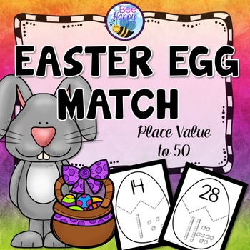 Easter Place Value Matching Game