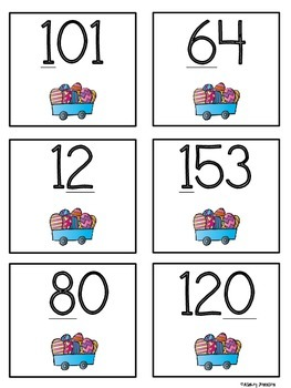 Easter Place Value Sort