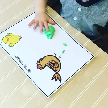 Easter Play Dough Mats