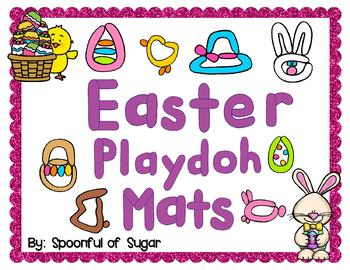 Easter Play-doh Mats