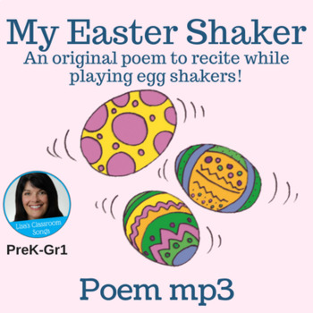 "Original Easter Poem | ""My Easter Shaker"" by Lisa Gillam 