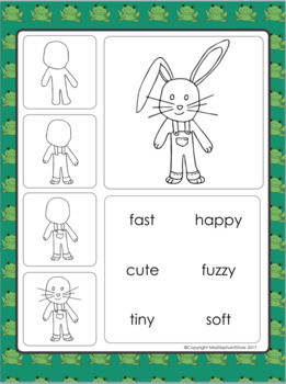 Easter Poem and Directed Drawing Free