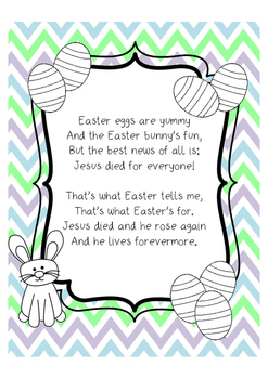 Easter Poems Worksheets & Teaching Resources | Teachers Pay