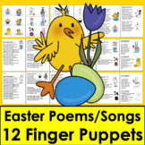 Easter Activities:   Poems, Songs & Finger Puppets