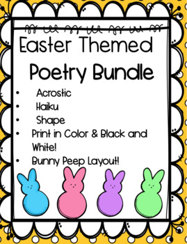 Easter Poetry Unit