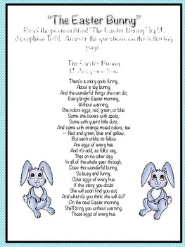 Easter Poetry Small Group Lesson