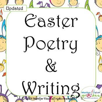 UPDATED Easter Poetry & Writing - Activities, Worksheets.