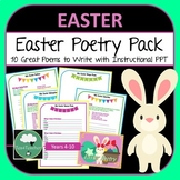 Easter Poetry Writing Fun - 10 Poems to Write in Lower Secondary for Easter