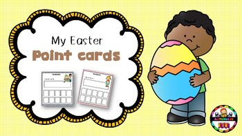 Easter Behaviour Point cards