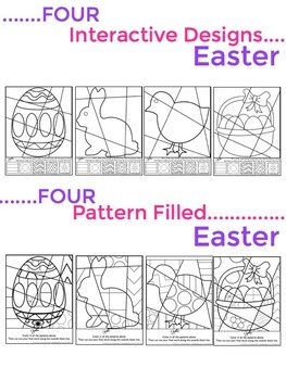 Easter Activities - Interactive Coloring Sheets by Art ...
