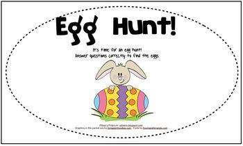 Easter Possessive Nouns